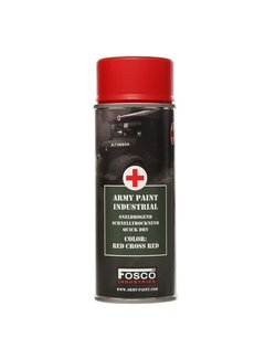 Fosco Armeefarbe Red Cross Red