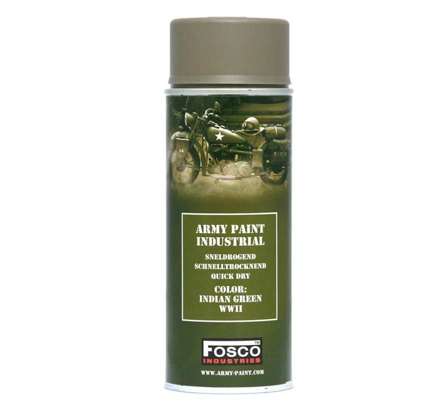 Army Paint Indian Green WWII