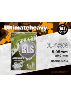 BLS 0,43 BIO Ultimate Heavy BBs 1000rds