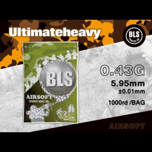 BLS 0.43 BIO Ultimate Heavy BBs 1000rds