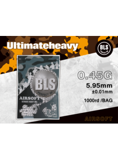 BLS 0,45 BIO Ultimate Heavy BBs 1000rds