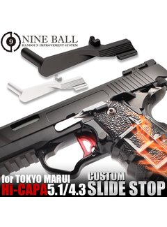 Nine Ball TM Hi-CAPA 5.1/4.3 Custom Slide Stop (Black)