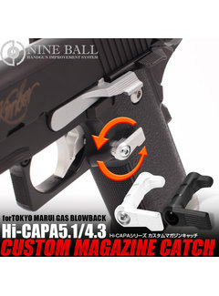 Nine Ball TM Hi-CAPA CUSTOM Magazine Catch