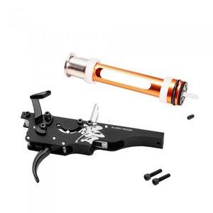 Laylax PSS ZERO Trigger mit Hochdruck-ZERO-Kolben für TM VSR-10