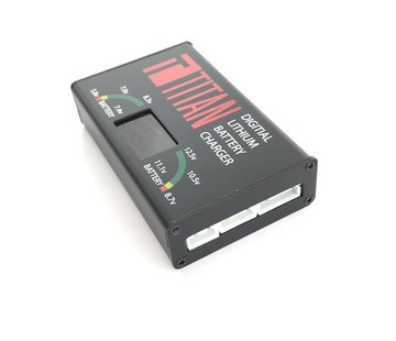 Titan Digital Charger LiPo Li-On UK POWER PLUG
