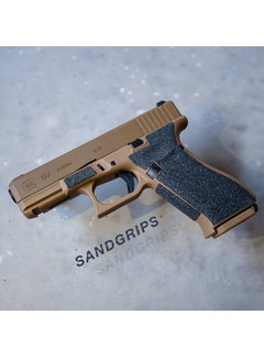 SandGrips Glock 19X More grip for your handgun