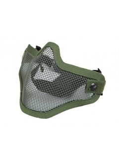 NHelmet Steel mesh mask OD Green