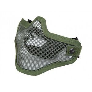 NHelmet Steel mesh mask OD Green