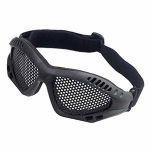 NHelmet Stahlgitterbrille Schwarz