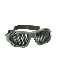 NHelmet Stahlgitterbrille OD Grün