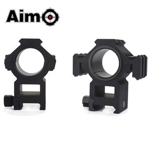 Aim-O Tri-Sided Rail 25.4-30mm Split Ring Mount