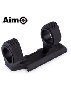 Aim-O Precision Ultralight Extended Scope Mount With Bubble 25.4/30mm 1""