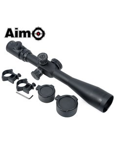 Aim-O 8-32x50E-SF Scope - Red/Green Reticle