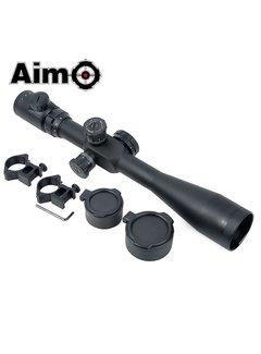 Aim-O 8-32x50E-SF-Zielfernrohr- Rot / Grün-Absehen