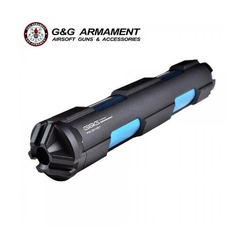 G&G GOMS MK6 (14mm CCW)  Suppressor - Black