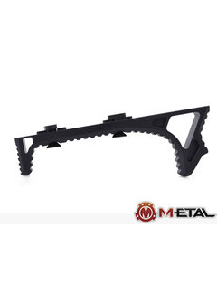 Metal M-lok Link Curved Foregrip Black