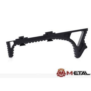 Metal M-lok Link Curved Foregrip Black