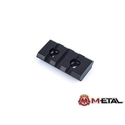 Metal 3-Slot M-LOK CNC Aluminum Rail