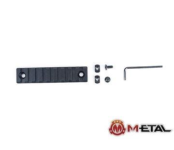 Metal 9-Slot M-LOK CNC Aluminum Rail
