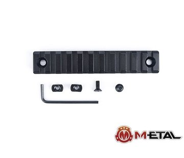 Metal 11-Slot M-LOK CNC Aluminum Rail