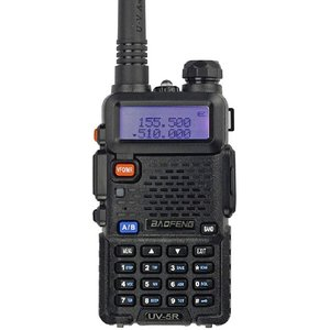 BAOFENG Uv5r Professional Two Way Radio Black