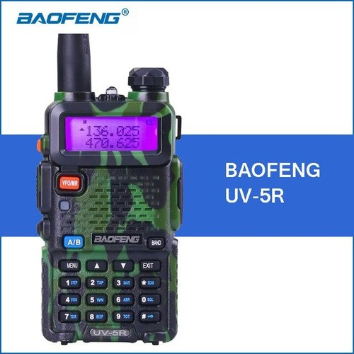 BAOFENG Uv5r Professional Two Way Radio Camo