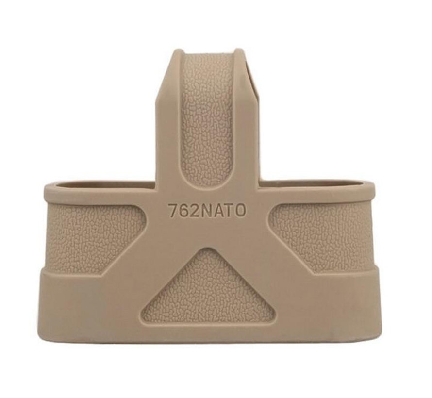 7.62 NATO Magazine Rubber Dark Earth