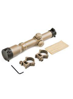 Aim-O 1-4x24 Tactical Scope Dark Earth