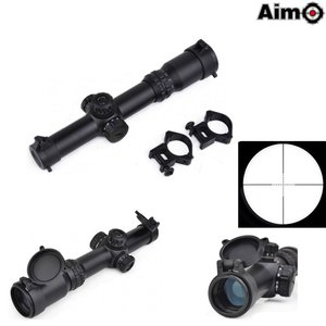 Aim-O 1-4x24SE Tactical Scope Black (red green reticle)
