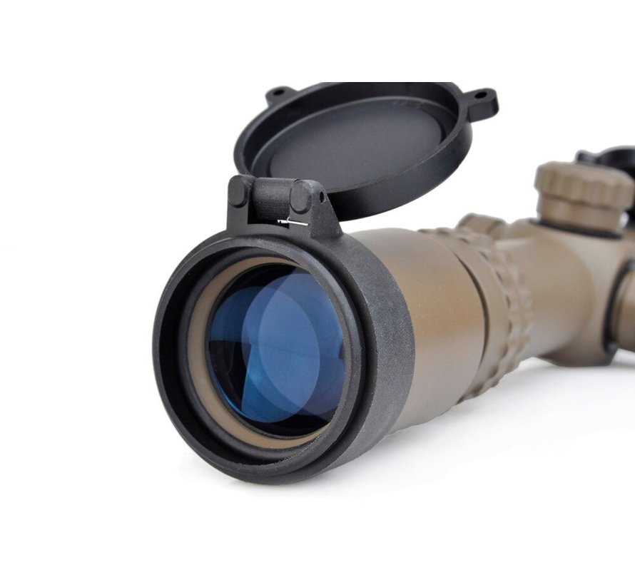 1-4x24SE Tactical Scope Dark Earth (red green reticle)