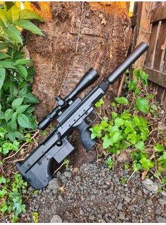 One Shot Airsoft Gun Skin SRS A1/A2 Carbon Fiber