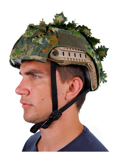 KMCS Helmet Cover - Green