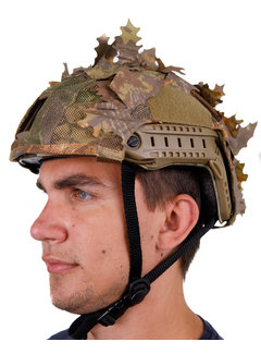 KMCS Helmet Cover - Brown