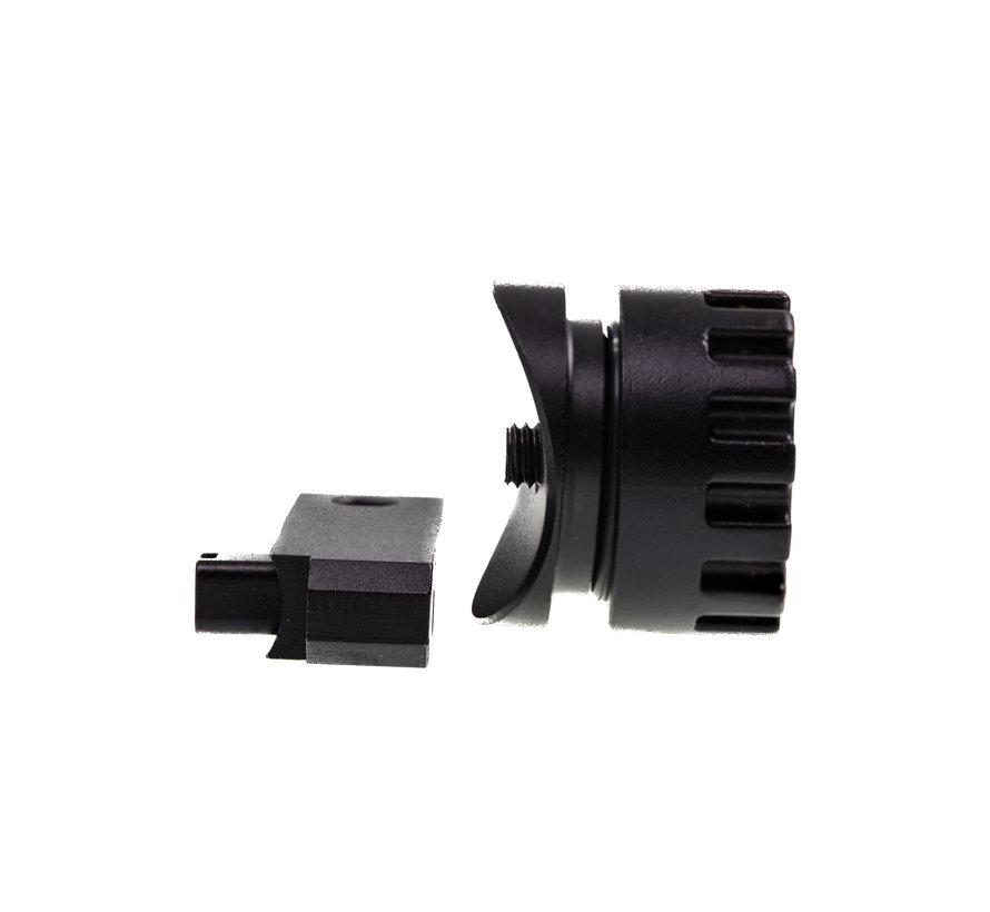 VSR10/SSG10 Arm & TDC Turret (4pc Aluminum set)