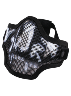 Viper Crossteel Face Mask Black Skull