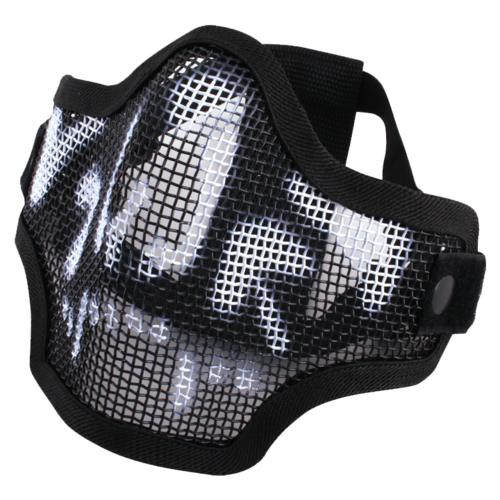 Viper Crossteel Face Mask Black Skull