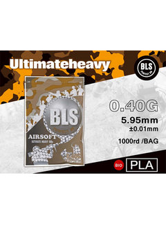BLS 0,40 BIO Ultimate Heavy BBs 1000rds