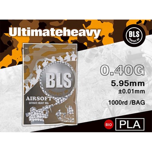 BLS 0,40 BIO Ultimate Heavy BBs 1000rds