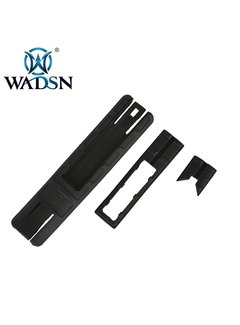 WADSN TD Battle Grip Rail Cover With Pocket For Light Switch