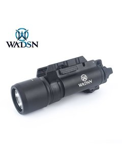 WADSN X300 Light Tactical Flashlight Black