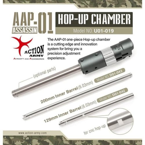 Action Army AAP01 Wheel Adjustable Hop-Up Chamber