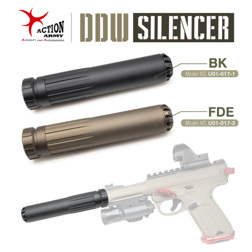 Action Army AAP-01 Silencer Black (14mm CCW)