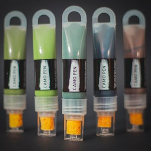 CAMO-PEN 4er Pack englische DPM-Farben