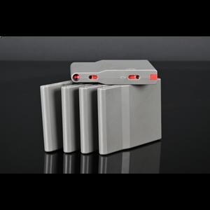 Silverback SRS Light Polymer Magazine (25 rds) Wolf Grey, X5