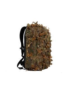 STALKER Leaf Suit Backpack Cover - Brown