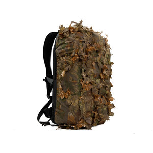 STALKER Leaf Suit Backpack Cover - Brown