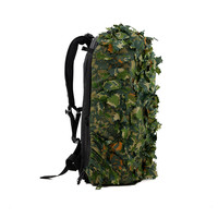 Leaf Suit Backpack Cover - Green