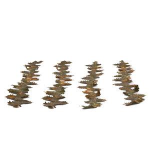 STALKER Crafting Blattstreifen 3 Meter braun