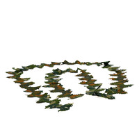 Crafting Leaf strip 3 Meter Green