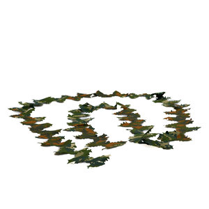 STALKER Crafting Blätterstreifen 3 Meter Grun